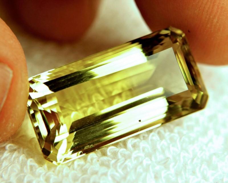 27.01 Carat VVS Lemon Quartz - Cool Stone