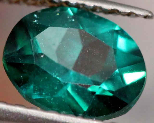 1.05 CTS GREEN QUARTZ FACETED  CG-1872