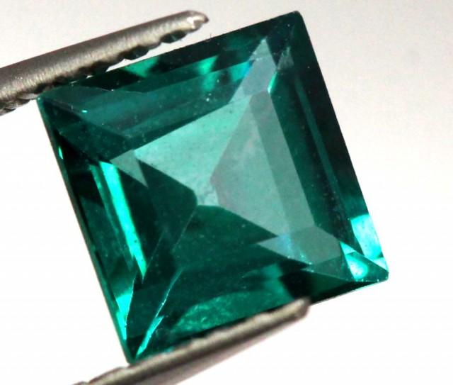 1 CTS  GREEN QUARTZ FACETED CG-1873