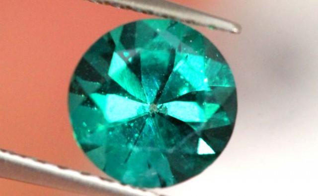 1.10 CTS GREEN QUARTZ FACETED  CG-1877