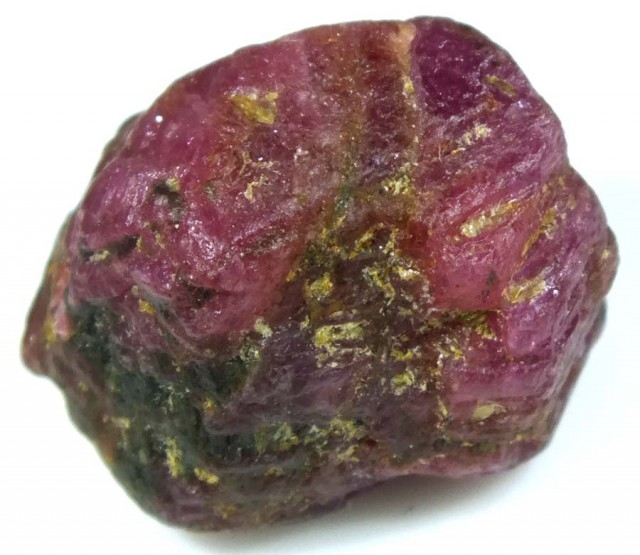 BURMA RUBY ROUGH RICH PINKY  RED 30 CTS RG-1342