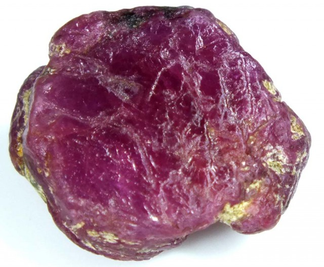 BURMA RUBY ROUGH RICH PINKY  RED 21.5 CTS RG-1349