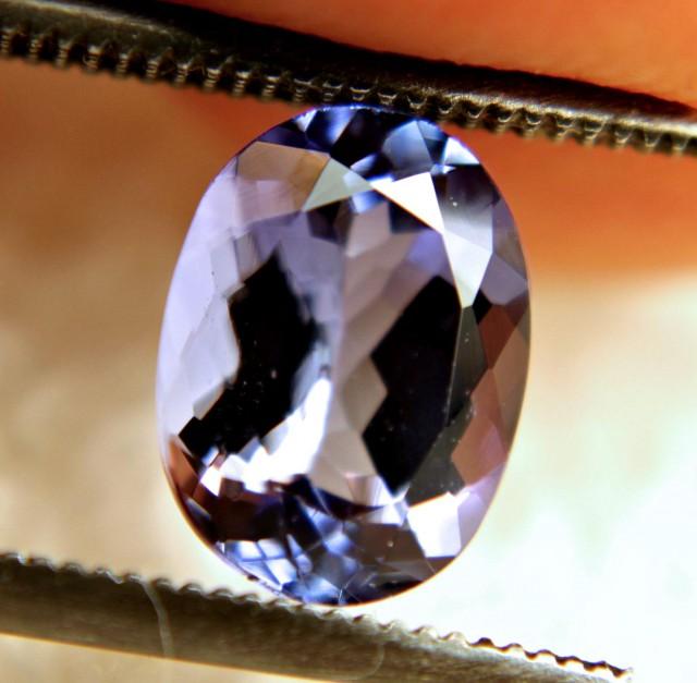 1.80 Carat IF/VVS1 African Purplish Blue Tanzanite