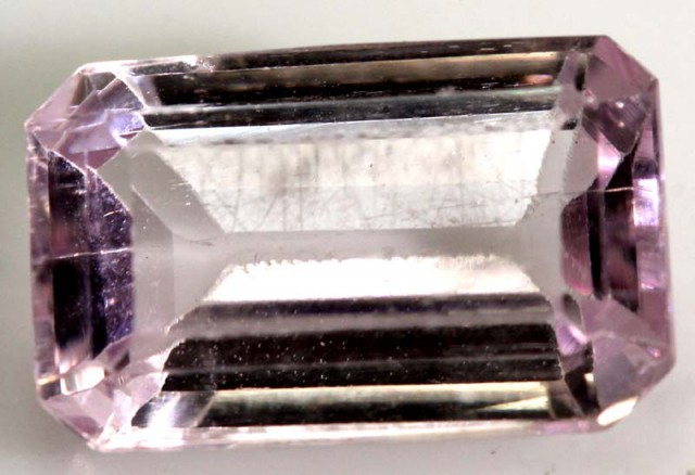 8.5  CTS PINK KUNZITE FACETED STONE    CG-1935