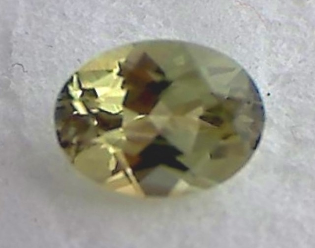 'Adorable' Yellow-Green Chrysoberyl Tanzania, 1.4ct IF/VVS A906