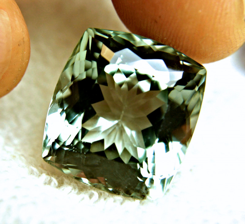47.3 Carat VVS Himalayan Green Spodumene - Gorgeous
