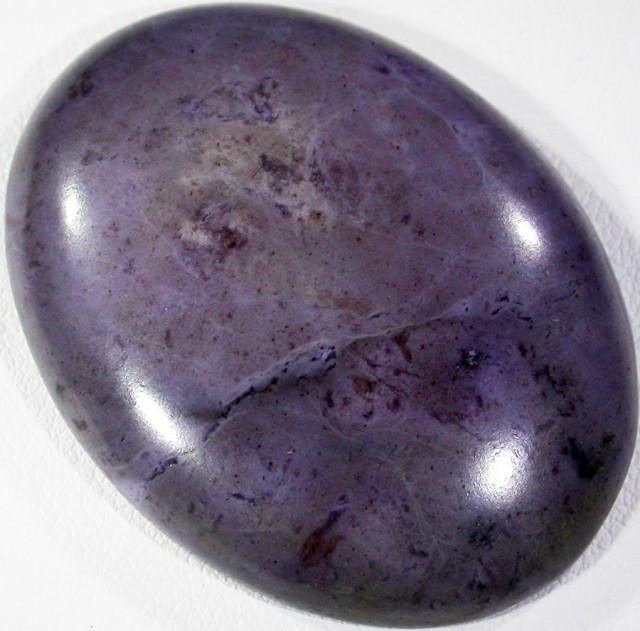 53.75 CTS PURPLE JADE FROM TURKEY-POLISHED[STS 9]