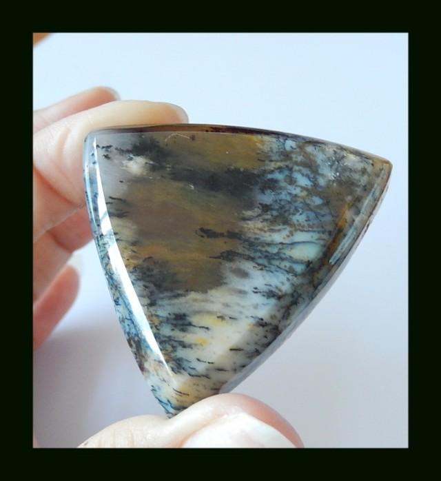 127.5ct Beautiful Dendritic Agate Natural Gemstone Cabochon