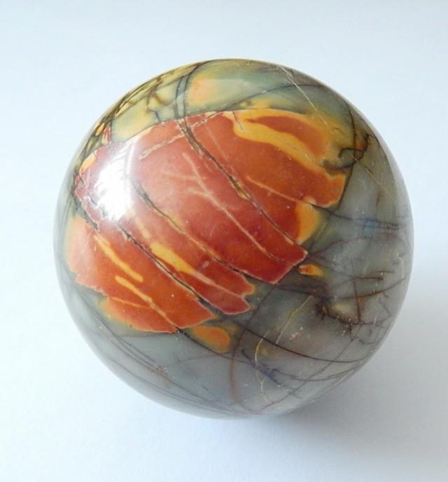 Natural Multi Color Picasso Jasper Ball Gemstone Globes(N018)