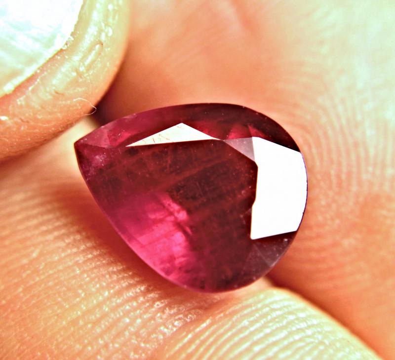5.97 Carat Fiery Ruby