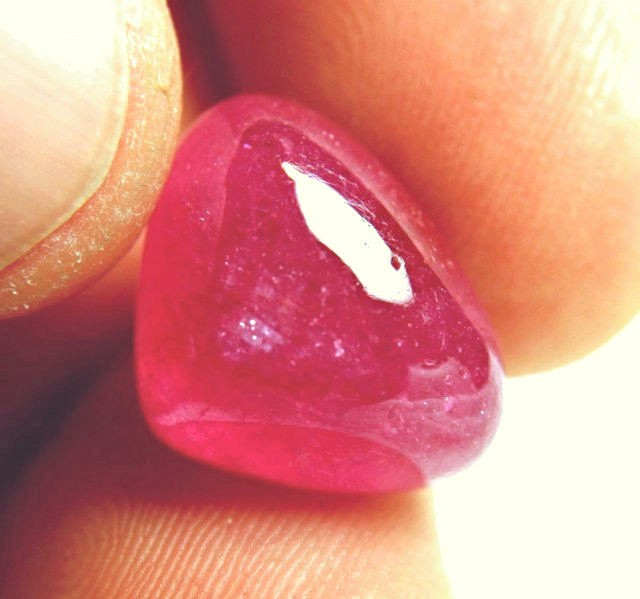 22.6 Carat Ruby Cabochon - Superb