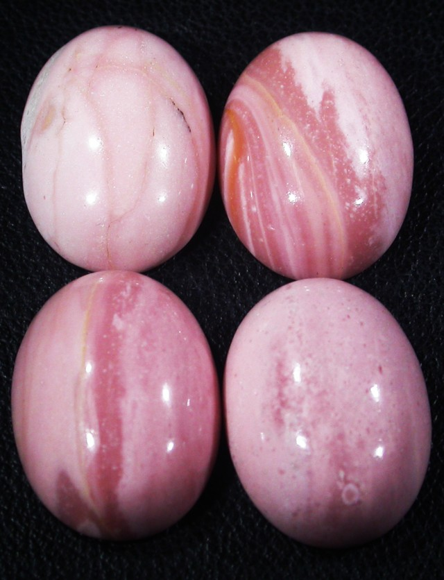 35.45 CTS 18X12 MM PINK OPAL-MOOKAITE-AUSTRALIA [STS119 ]