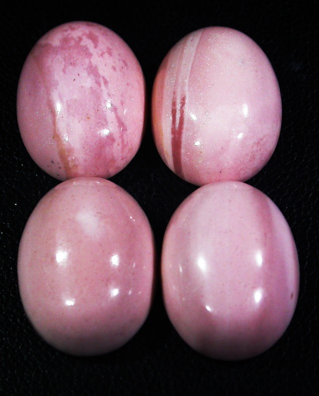 38.75 CTS 18X12 MM PINK OPAL-MOOKAITE-AUSTRALIA [STS148 ]