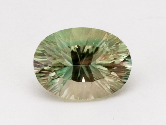 5.4ct Green Champagne Oval Sunstone (S2377)