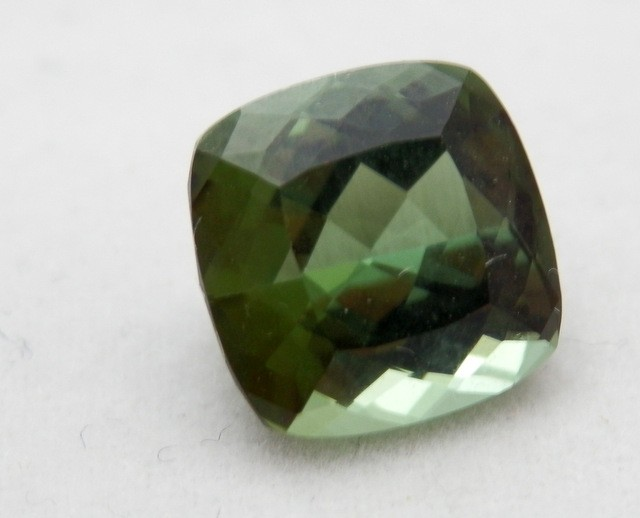 CHROME TOURMALINE SQUARE FLAWLESS