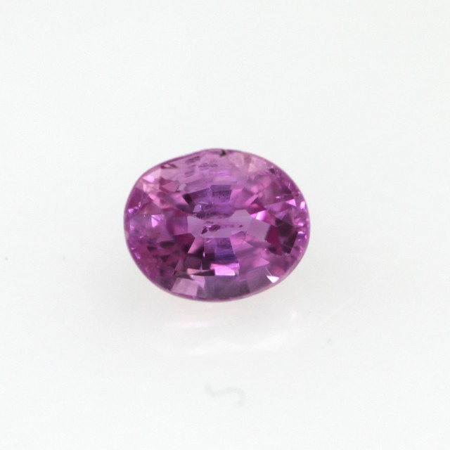 0.50cts Natural Sri Lankan (Ceylonese) Pink Sapphire Oval Cut