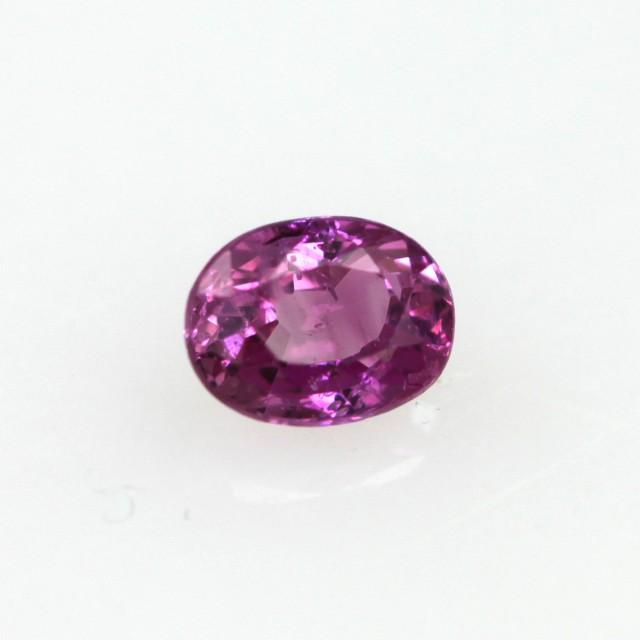 0.28cts Natural Sri Lankan (Ceylonese) Pink Sapphire Oval Cut