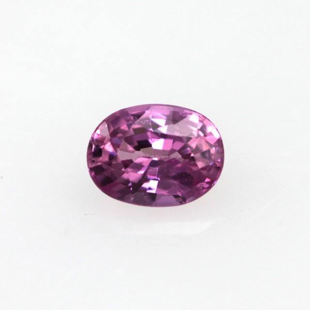 0.29cts Natural Sri Lankan (Ceylonese) Pink Sapphire Oval Cut