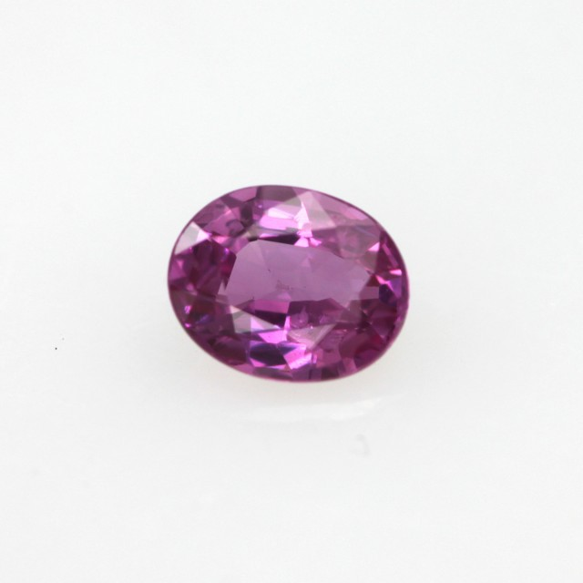 0.43cts Natural Sri Lankan (Ceylonese) Pink Sapphire Oval Cut