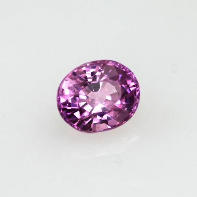 0.42cts Natural Sri Lankan (Ceylonese) Pink Sapphire Oval Cut