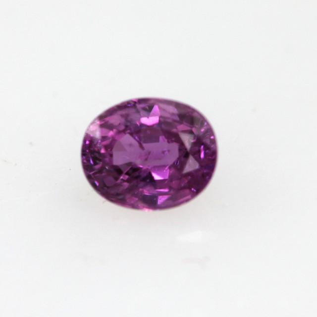 0.33cts Natural Sri Lankan (Ceylonese) Pink Sapphire Oval Cut