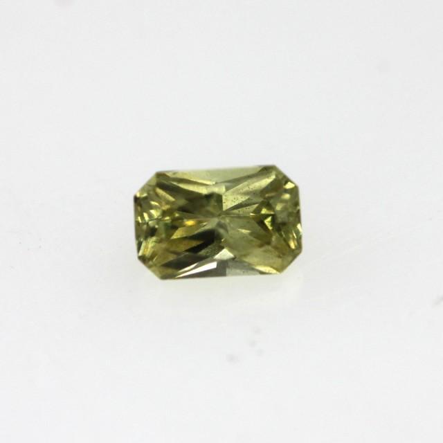 0.22cts Natural Australian Sapphire Radiant Cut