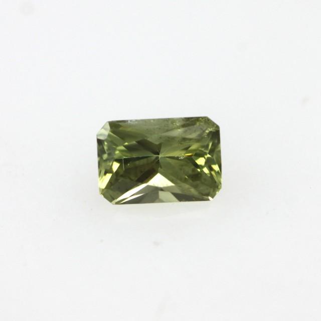 0.28cts Natural Australian Yellow Sapphire Radiant Cut