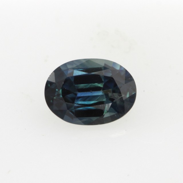 0.66cts Natural Australian Blue Sapphire Oval Cut