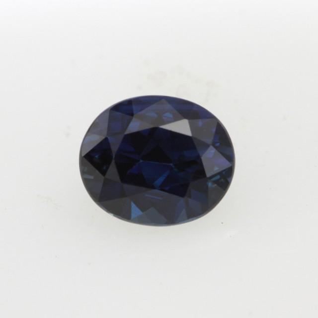 0.80cts Natural Australian Blue Sapphire Oval Cut