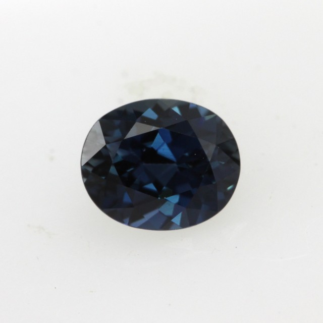 0.73cts Natural Australian Blue Sapphire Oval Cut