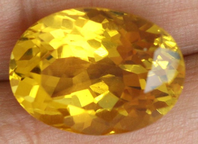 13.5 CTS CITRINE FACETED PG-1768