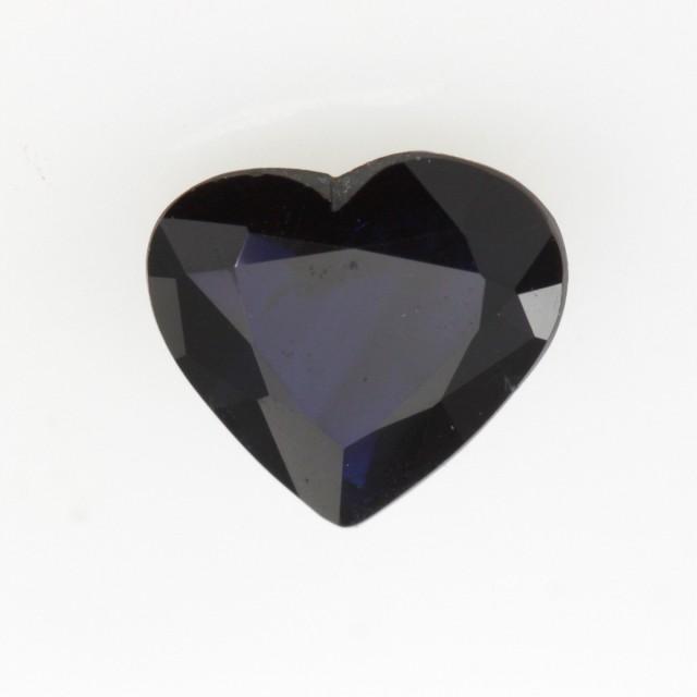 1.04cts Natural Australian Blue Sapphire Heart Shape