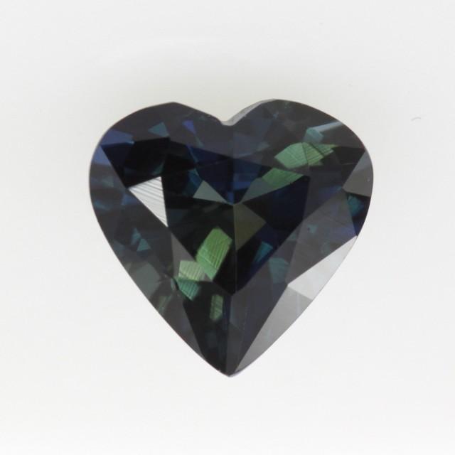 1.32cts Natural Australian Blue Sapphire Heart Shape