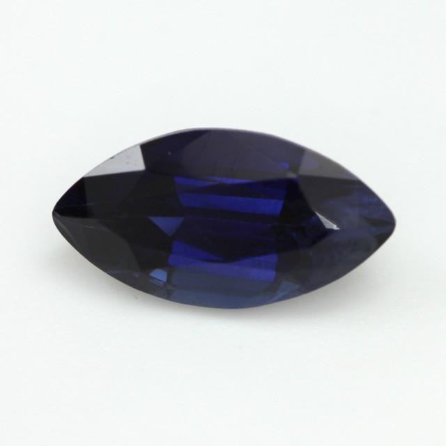 1.22cts Natural Australian Blue Sapphire Marquise Shape