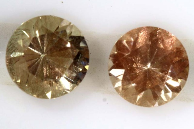 1.55 CTS SUNSTONE  FACETED  CG-1988