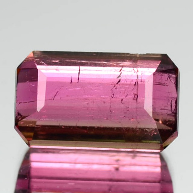 1.84 Cts Natural Sweet Pink Tourmaline Octagon Cut Mozambique Gem