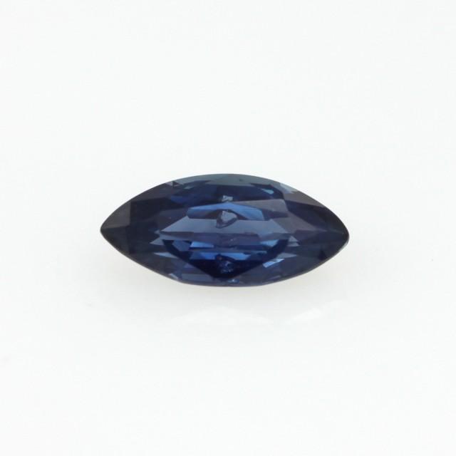0.66cts Natural Australian Blue Sapphire Marquise Shape