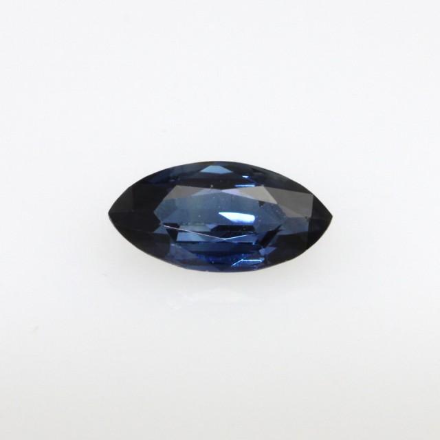 0.69cts Natural Australian Blue Sapphire Marquise Shape