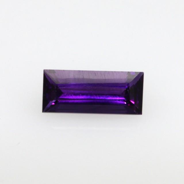 0.75cts Natural Purple Amethyst Baguette Shape