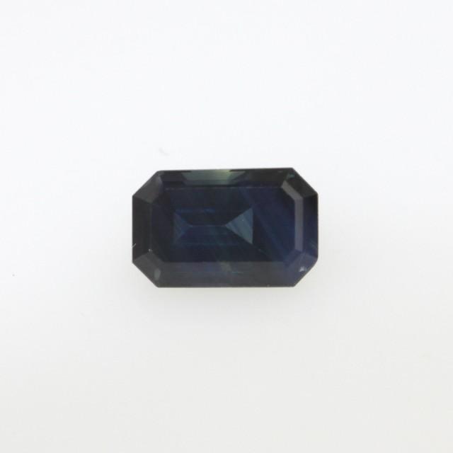 1.09cts Natural Australian Blue Sapphire Emerald Cut