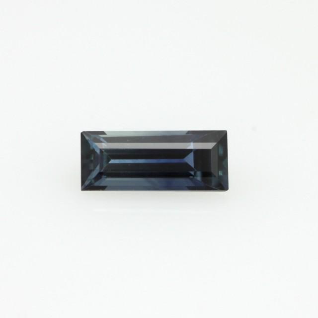 0.82cts Natural Australian Blue Sapphire Baguette Cut