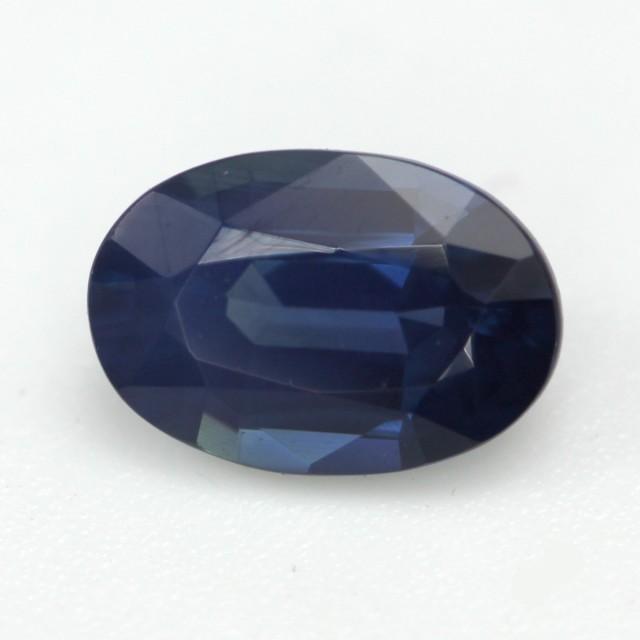 0.65cts Natural Australian Blue Sapphire Oval Cut