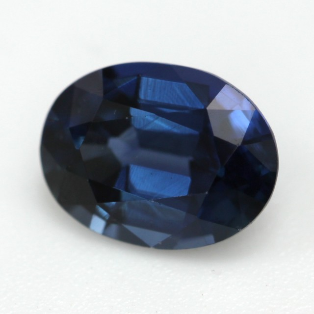 0.76cts Natural Australian Blue Sapphire Oval Cut