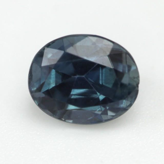0.93cts Natural Australian Blue Sapphire Oval Cut