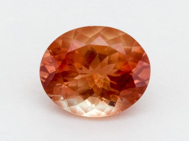3.8ct Peach Oval Sunstone (S2450)