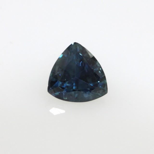 0.96cts Natural Australian Blue Sapphire Trillion Shape