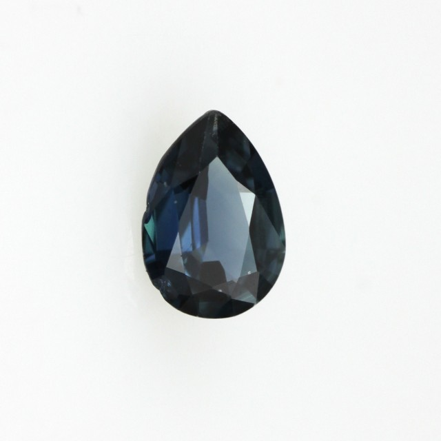 0.68cts Natural Australian Blue Sapphire Pear Shape