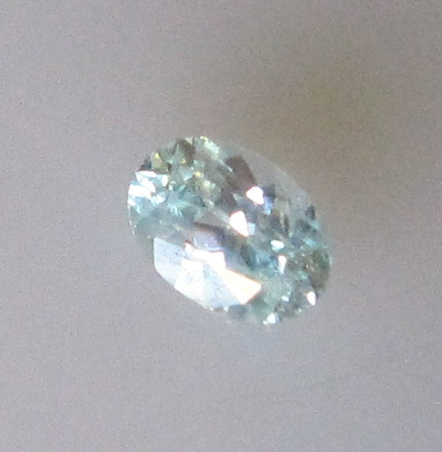 0.43cts Rare Natural Australian Blue Zircon Oval Shape