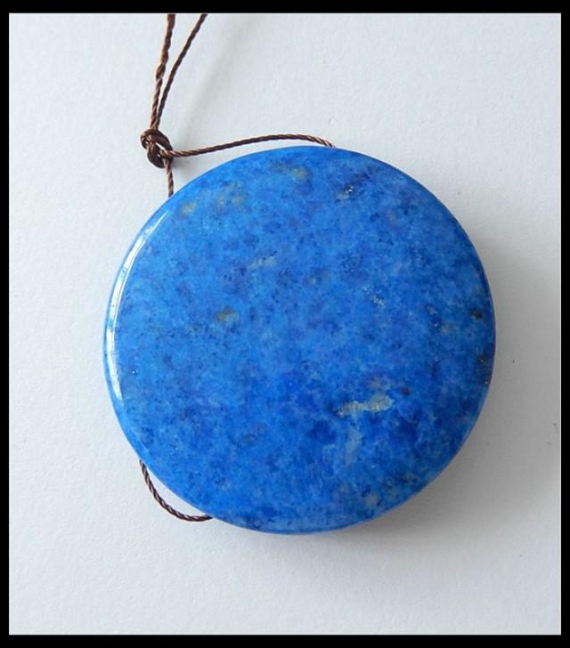 124.1 cts Lapis Lazuli Round Pendant Beads