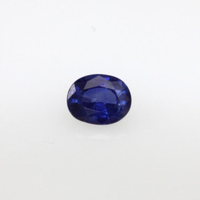 0.51cts Natural Sri Lankan Blue Sapphire Oval Cut